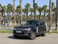 Фото прокатного авто Range Rover Vogue SE supercharged 2013, Черный компании Car&Go в Сочи