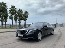 rental car photo Mercedes-Maybach S 500 4MATIC 2016, Черный Car&Go companies in Sochi