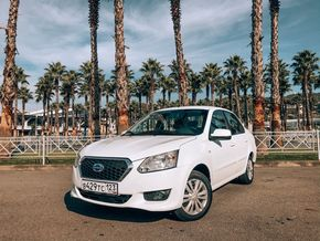 rental car photo Datsun on-Do, 2017 Белый Car&Go companies in Sochi
