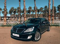 rental car photo Hyundai Equus 2011, Черный Car&Go companies in Sochi