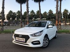 rental car photo Hyundai Solaris 2019, Белый Car&Go companies in Sochi