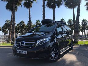 rental car photo Mercedes-Benz VIANO 2014, Черный Car&Go companies in Sochi
