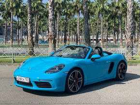 rental car photo Porsche 718 Boxster S Cabrio Car&Go companies in Sochi